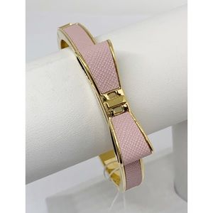 Kate Spade Perfectly Placed Leather Bow Bangle